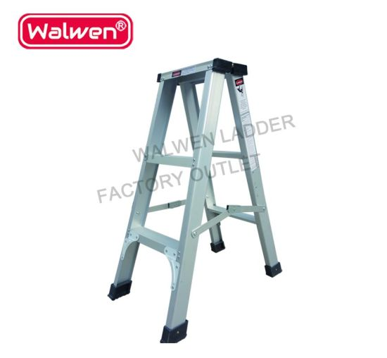 Admirable 3 Feet Library Affordable Folding Step Ladder Hinge A Frame Aluminum Ladder Beatyapartments Chair Design Images Beatyapartmentscom