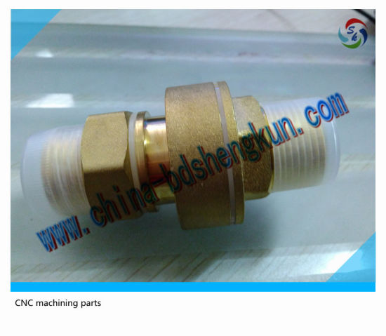 Cutomized Brass High Precision CNC Machining Valve