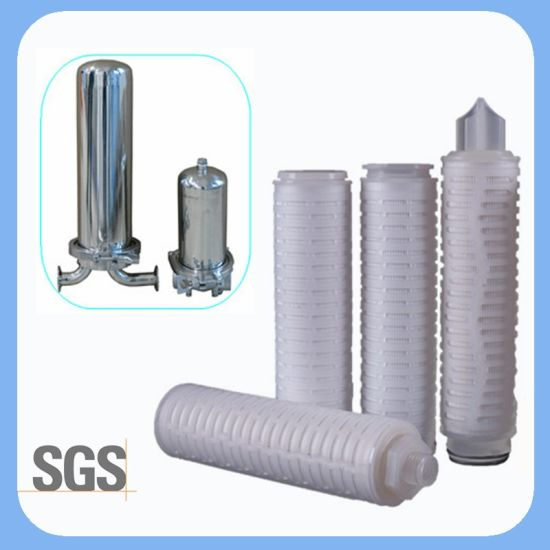 Multi-Layer 0.1 Micron Membrane Pleated Water Filter for Industry Pre Filtration