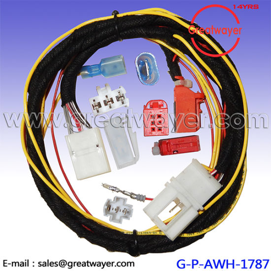 china vw 6 pin connector 1j0919321 seat wiring harness china seat rh greatwayer en made in china com VW Beetle Wiring Harness vw wire harness connectors