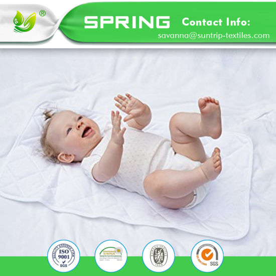 5f7359bc3d6 Infant Cotton Nappy Cover Toddler Waterproof Urine Mat Newborn Baby  Changing Pad