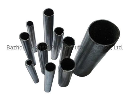 6'' 8'' 4mm Thickness ASTM A500 Ms ERW Pipe with Black Painting in Warehouse