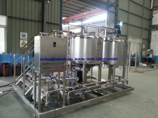 Flavored Milk Drink Production Line Mixing Tanks Fermentation Plant pictures & photos