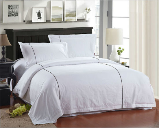 Luxury 5 Star Hotel Yarn Dyed Bed Sheets