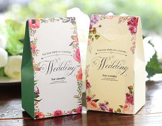 China Wedding Favor Bags Fall In Love Favor Bags Personalized
