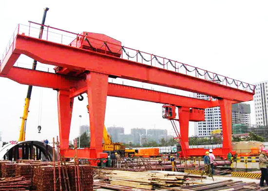 Electric Hosit Gantry Crane 50 Ton-Heavy Duty Outdoor Gantry Crane