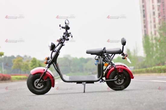 EEC Approved 1500W 60V Electric Harley Scooter Citycoco for Sale pictures & photos