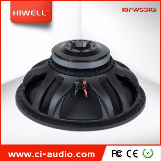PRO Audio Sub Woofer High Power 18′′ Subwoofer 1000 RMS Powered Speaker