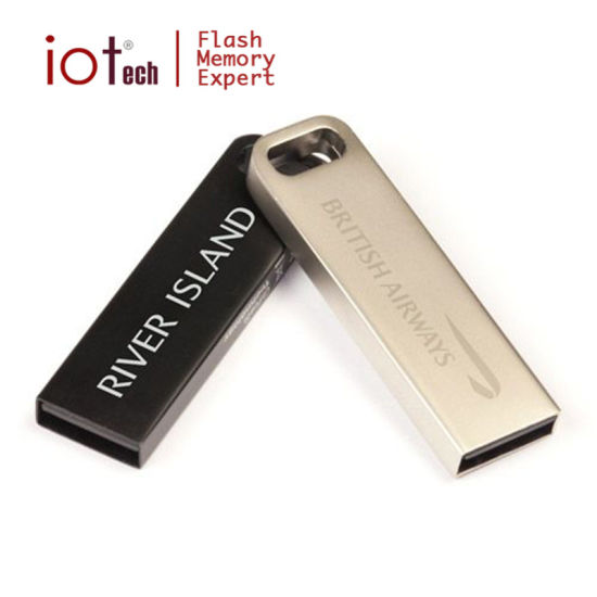Bulk Cheap Stylish Iron USB Flash Drive 4GB pictures & photos