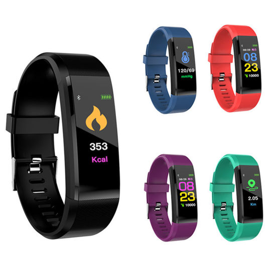 New Arrival ID115 Plus Smart Band Bracelet Multi-Sports Activity Tracker  Rate Monitor