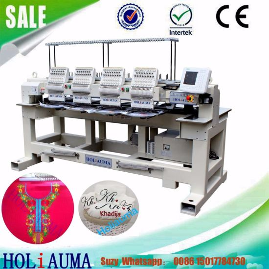 China Barudan Type Four Head Computerized Embroidery Machine High