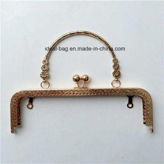 China Wholesale Handbags Accessories Custom Rose Gold Color ...