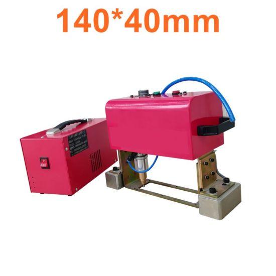 140*40mm Portable Vehicle Chassis Number DOT Peen Marking Machine Pneumatic Metal Handheld Engraving Machine for Vin Number