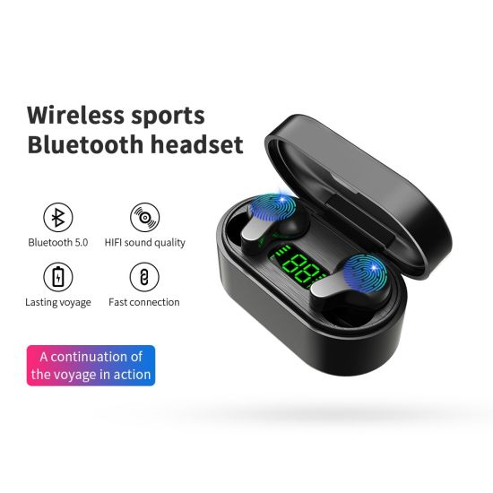 2020 Amazon Popular Selling True Wireless Stereo Bluetooth 5.0 Tws Headphones