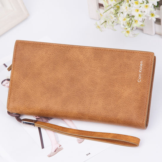 Ladies Long Zipper Wallet Korean Fashion Clutch Large Capacity Mobile Phone Card Purse pictures & photos