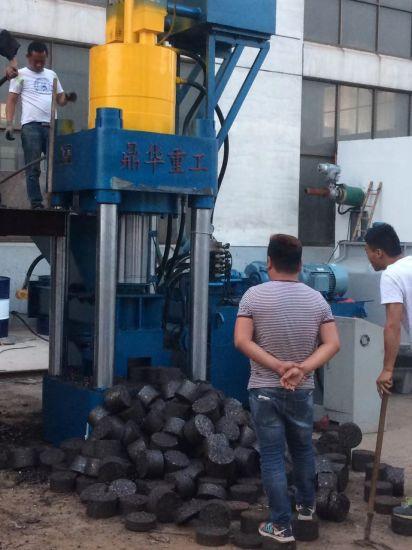 Automatic Iron Scrap Briquetting Recycling Equipment Vertical Hydraulic Aluminum Press Machine