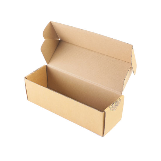 Plain White Tuck Top Airplane Box Matte Finished Folding Packaging Boxes Corrugated for Clothes Packaging