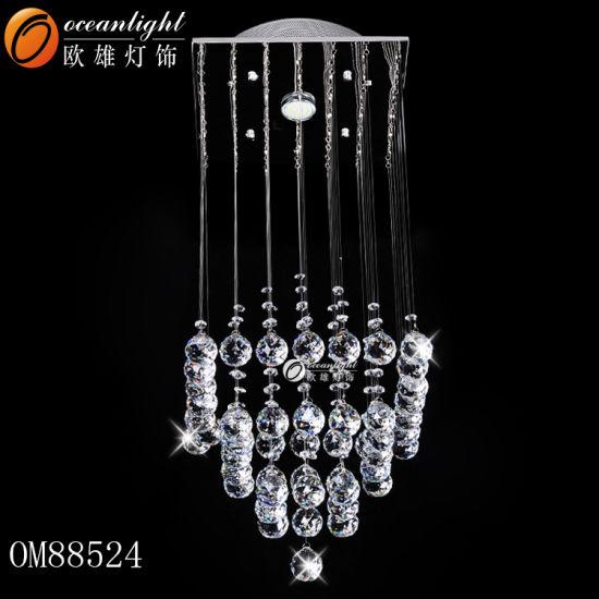 Modern LED Crystal Lighting Chandelier Pendant Chandelier Kitchen Lamp with Hotel, Restaurant or Household