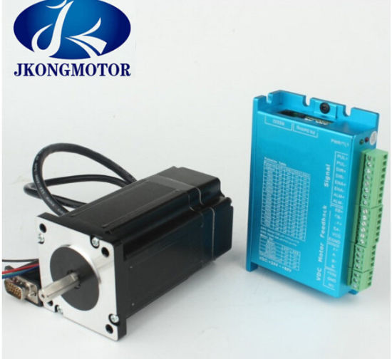 Servo Closed Loop Stepper Motor Driver Kit NEMA 24 3m Encoder