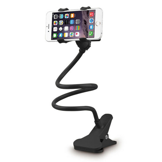 360 Degree Rotating with Flexible Arm Mobile Lazy Bracket Phone Holder