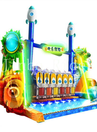 China Manufacturer Thrilling Amusement Park Rides Happy Adventure Rides for Sale