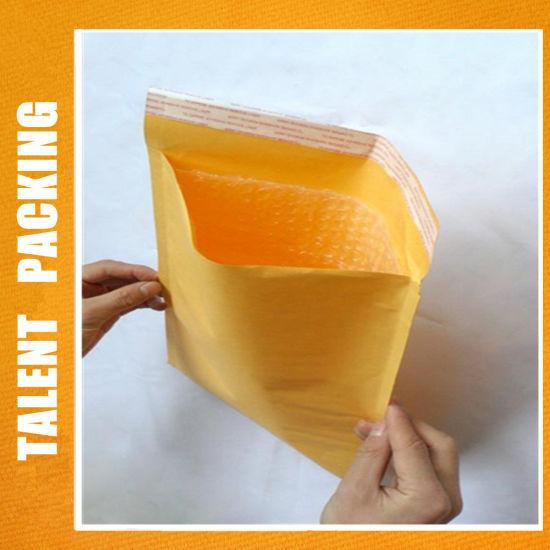 8X10 Custom Packaging Kraft Bubble Mailer Recycled Kraft Padded Envelopes