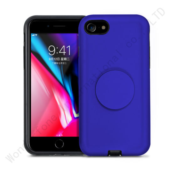 c484561e481 Slim Hybrid Hard Back Case Kickstand for iPhone X pictures & photos