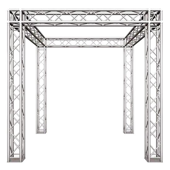 Hot Selling Aluminum Circle Lighting Spigot Outdoor Stage Truss Display System for Sale