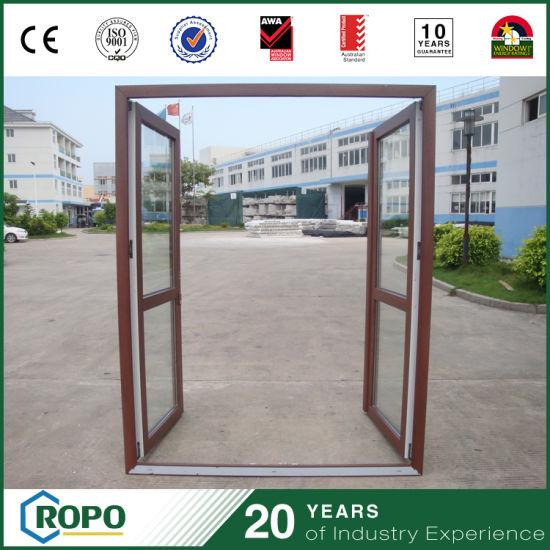 China Hurricane Proof Doors Plastic French Entrance Door China