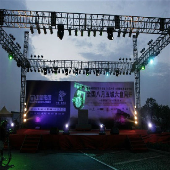 China outdoor concert exhibition stage lighting roof trade show outdoor concert exhibition stage lighting roof trade show spigot truss aloadofball Images
