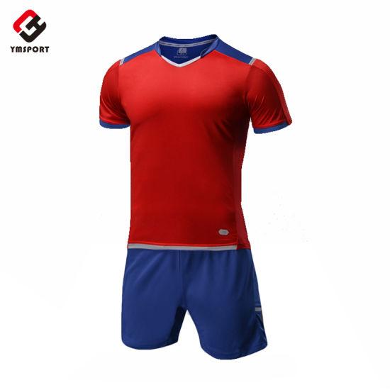 High Quality Sportswear Sublimation Men's Soccer Football Uniforms