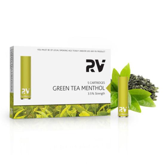 RV- Vape Pen Electronic Cigarette Classic Cartridge Green Tea Menthol