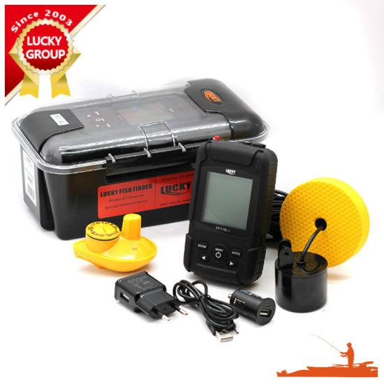 FF-718li-W Rechargeable Wireless 40m Depth Fish Finder W/ 180m Wireless Operation Range Sensor