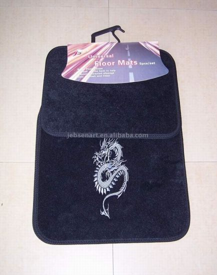 New Design Durable Polyester Car Floor Mat pictures & photos