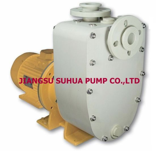 Magnetic Fluoroplastic Self Priming Pump with Ex Motor