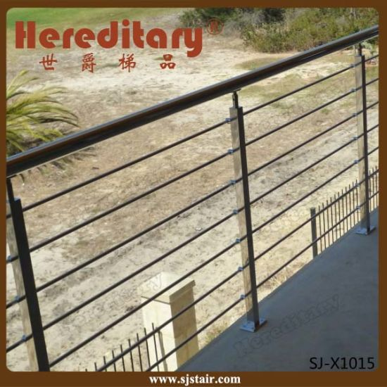 Mini Stainless Steel Rod Railing System for Balcony (SJ-H5009) pictures & photos