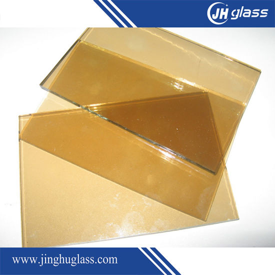 6mm Flat Euro Bronze Laminated Reflective Glass for Building pictures & photos