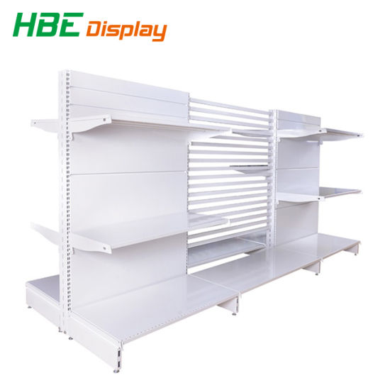 Double Side Metal Gondola Supermarket Shelf pictures & photos