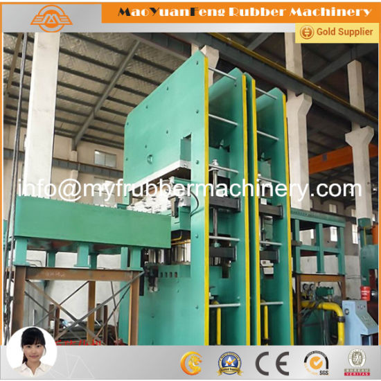 1600*8500 Large Frame Plate Rubber Vulcanizing Machine Press pictures & photos