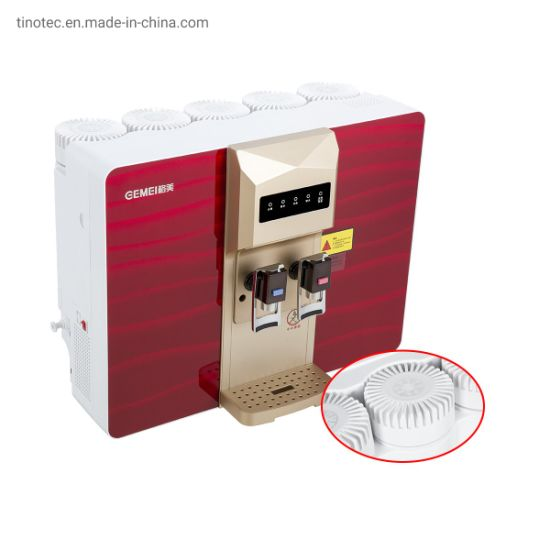 Wall-Mounted Reverse Osmosis Water Filter with Hot and Cold Water
