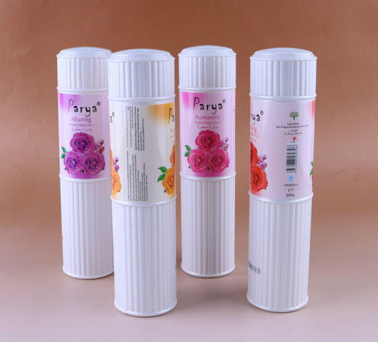 Parya 250ml Rose Fragrance Alluring Romantic Enticing Beautiful Perfumed Talcum Powder