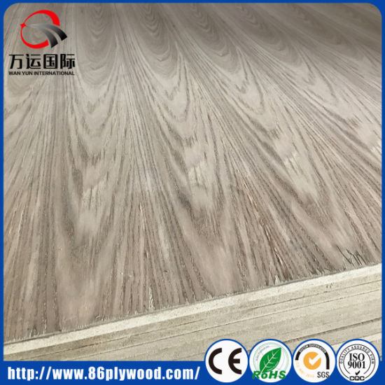 18mm Natural Ash/ Red Oak Veneer Laminated Commercial Plywood pictures & photos