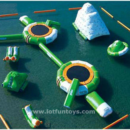 Inflatable Waterpark: Water Park with Different Toys Combination. pictures & photos