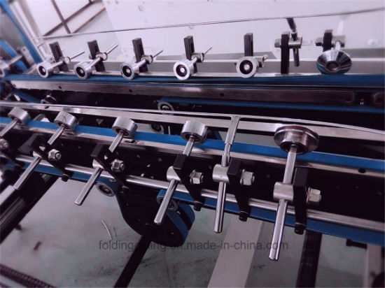 Automatic Prefolding Folder Gluer (GK-650BA) pictures & photos
