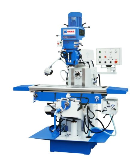 Universal Swivel Head Milling Machine X6332 Turret Milling Machine with Power Feed pictures & photos