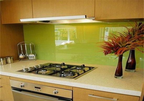China 4mm 5mm 6mm 8mmthick Bathroom Wall Glass/ Splash Back Glass ...