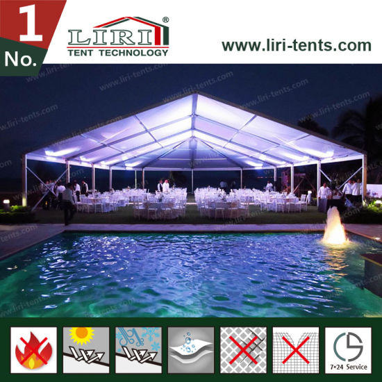 New Design Luxury Wedding Marquee Tent Party Tent for Sale pictures & photos