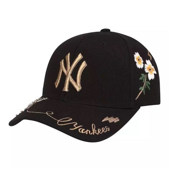 Wholesale Custom Cotton Baseball Sports Cap with Embroidery for Women