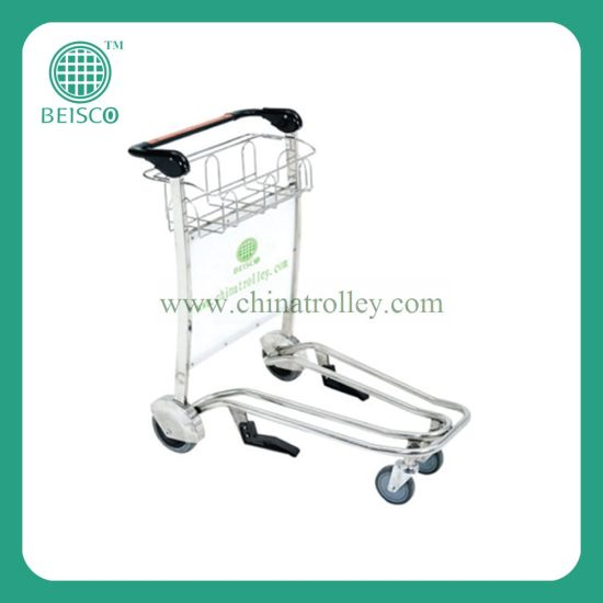 Stainless Steel Airport Luggage Trolley, Airport Trolley, Airport Passenger Trolley pictures & photos