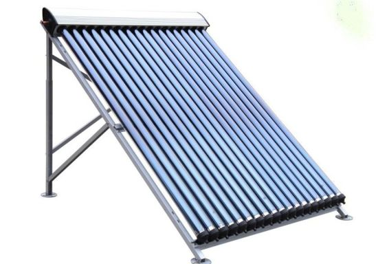 Split Stainless Steel Heat Pipe Hot Water Collector